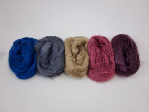 Tussah Silk Colour Pack- 100g- Westside (DHG)