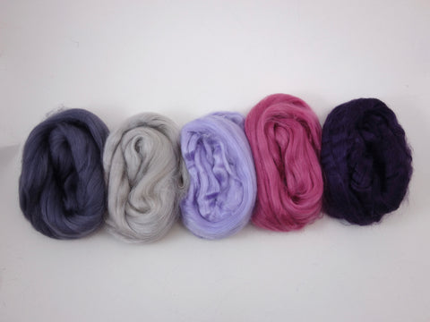 Tussah Silk Colour Pack- 100g- Dreaming (DHG)