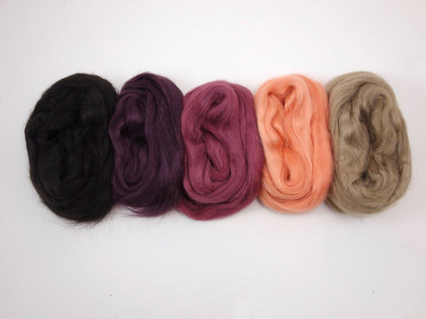 Tussah Silk Colour Pack- 100g- Boudoir (DHG)