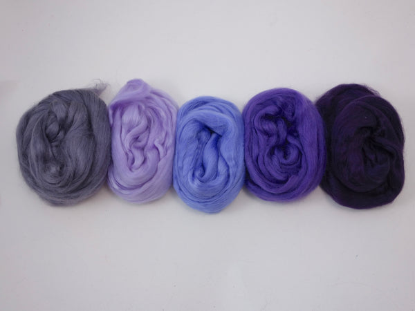 Tussah Silk Colour Pack- 100g- Thistle (DHG)