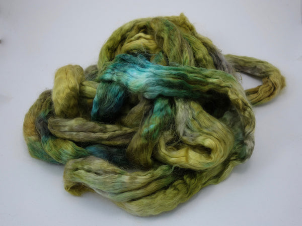 Silk & Kid Mohair, Hand Dyed, Variegated. 100g
