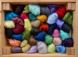 Tussah Silk Sample Pack- 390g- All available shades (DHG)