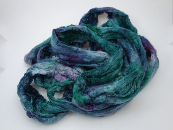 Mulberry Silk Brick, Hand Dyed, 120g