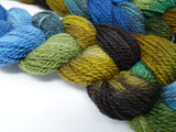 Hand Dyed Colours of Cambria, Warp- Cambrian Wool 2/6NM ~300m per 100g. 150 ends. ~2.2m or 4.8m length