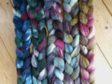 Fade Pack- Merino & Kid Mohair, 5 co-ordinating braids, Hand Dyed, 500g