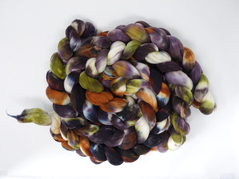 Rambouillet, Hand Dyed , Variegated. 100g