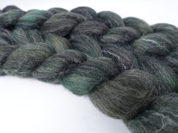 BFL, Alpaca & Seacell. Hand Dyed Variegated & Semi-Solid, 100g