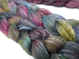 Copy of BFL, Alpaca & Seacell. Hand Dyed Variegated & Semi-Solid, 100g