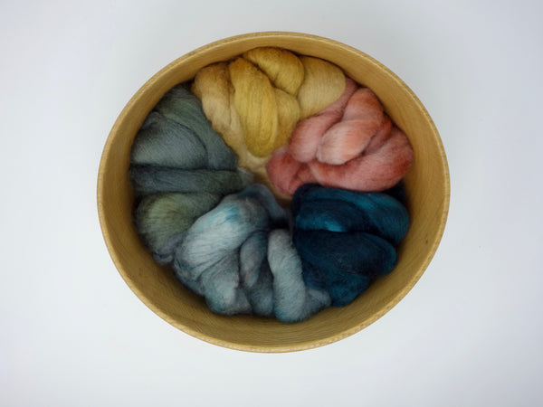 Textile Heritage: Spitalfields - 100g Cambrian (Welsh x BFL) Wool