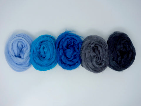 Tussah Silk Colour Pack- 100g- Jay (DHG)