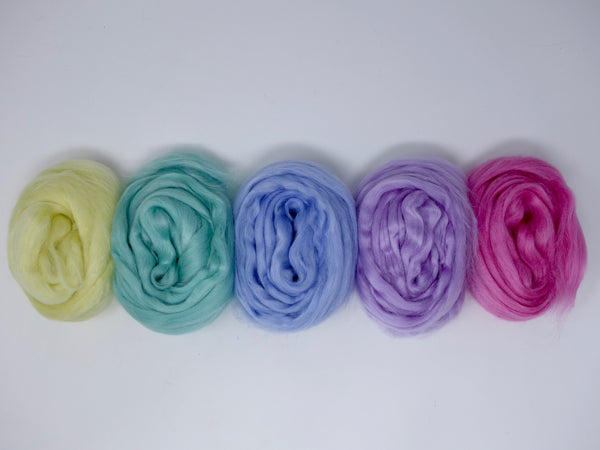 Tussah Silk Colour Pack- 100g- Gelato (DHG)