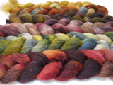 Dyers Half-Dozen- British Shetland, 6 co-ordinating mini braids, Hand Dyed Wool, 360g