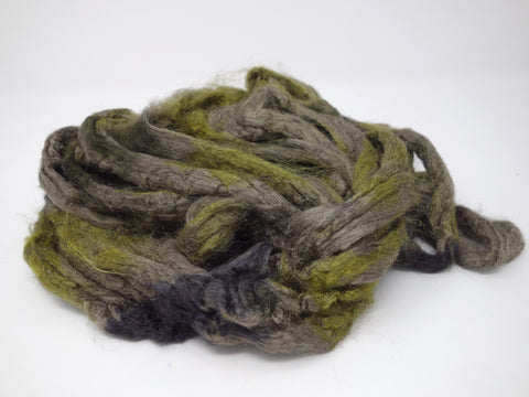 Penduncle Silk- Hand Dyed. Variegated. 100g