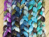 Fade Pack- Tweed Wool, 5 co-ordinating braids, Hand Dyed, 500g