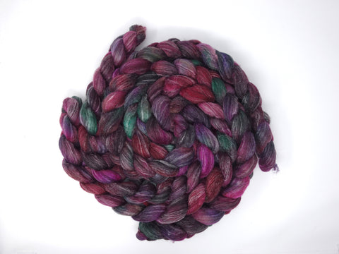 BFL, Alpaca & Seacell. Hand Dyed, 100g- Variegated