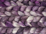 Merino & Silk. Hand Dyed Semi-Solid, 50-50 blend, 100g
