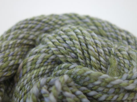 "Handspun Yarn- Bulky, ""Sea Treasure"" - Hilltop Cloud"