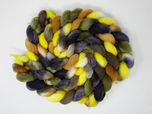 Superfine Shetland, Hand Dyed, Repeating, 100g