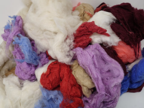 Cashmere Mixed Bag- 500g. Assorted colours