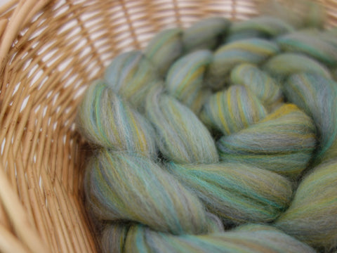Odin- Nordic Collection. Blended Corriedale & Merino Top, 100g - Hilltop Cloud