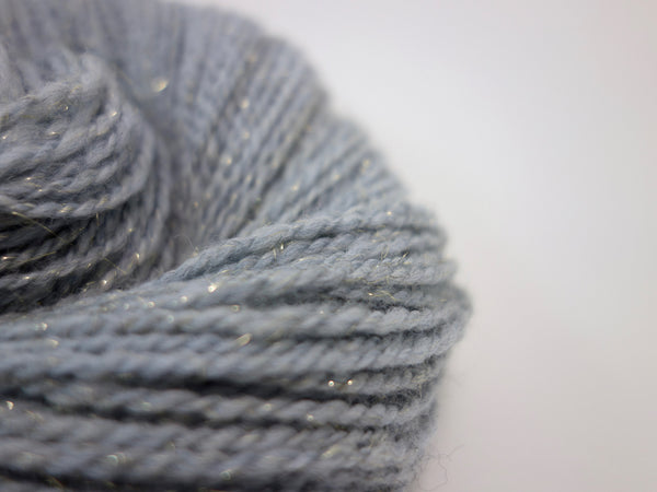 "Handspun DK Yarn- "" Winters Dawn"" - Hilltop Cloud"