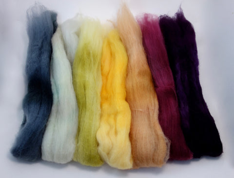 Bach Pack, Shale Colourway - 140g Superfine Shetland - Hilltop Cloud