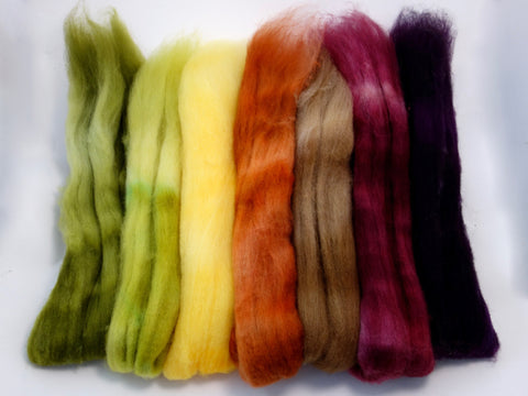 Bach Pack, Fruits of the Season Colourway - 140g Superfine Shetland - Hilltop Cloud