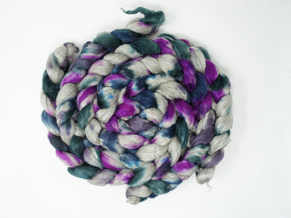 Merino & Silk. Hand Dyed Variegated, 50-50 blend, 100g