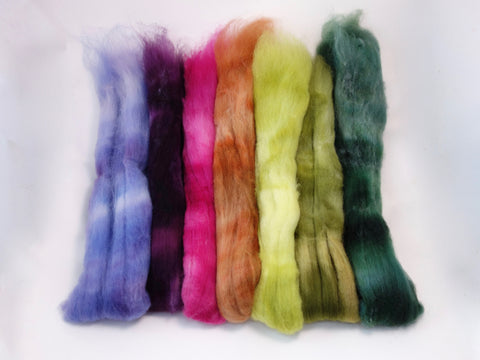 Bach Pack, Wildflower Colourway - 140g Superfine Shetland - Hilltop Cloud