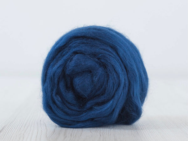 Tussah Silk Tops- 100g- Evening (DHG)