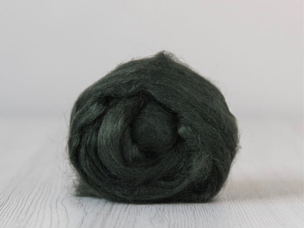 Tussah Silk Tops- 100g- Fir (DHG)