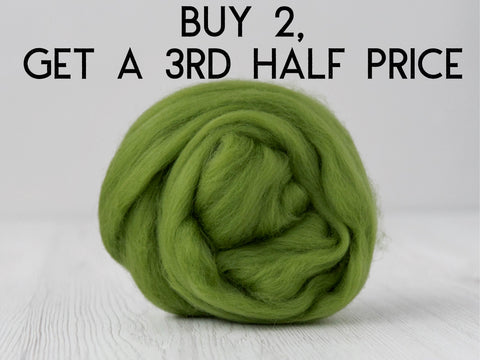 Green Merino and Silk