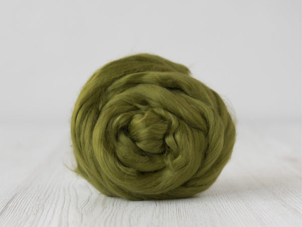 Cotton Sliver- 50g- Olive (DHG)