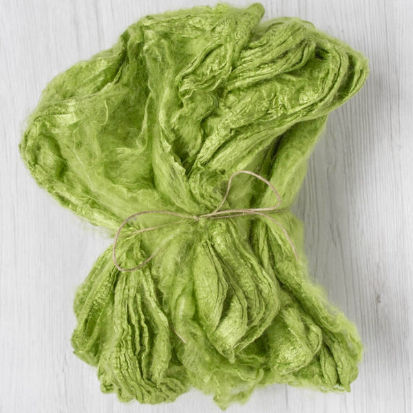 Lime Green Silk Hankies