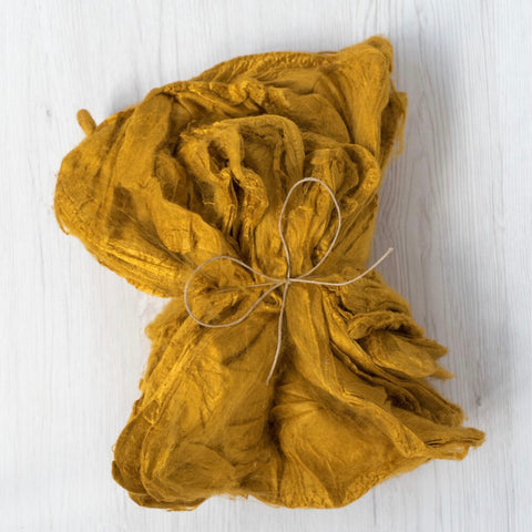 Yellow Silk Hankies