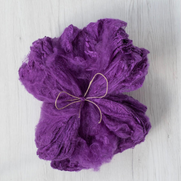 Purple Silk Hankies