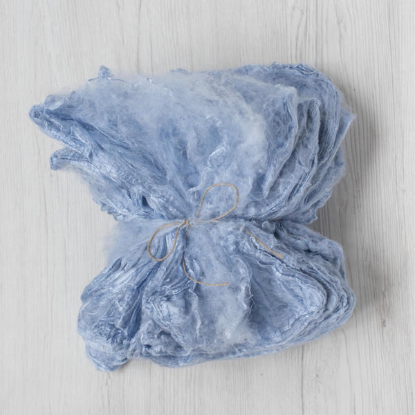 Pale Blue Silk Hankies