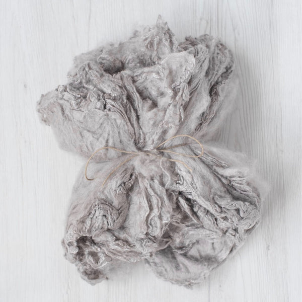 Pale Grey Silk Hankies