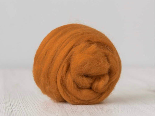 Light Orange Cashmere Fiber