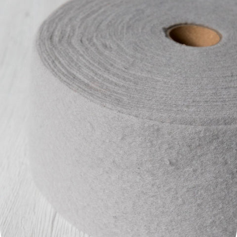 Superfine Merino Pre-Felt, 2m x 10cm, Cloud (DHG)