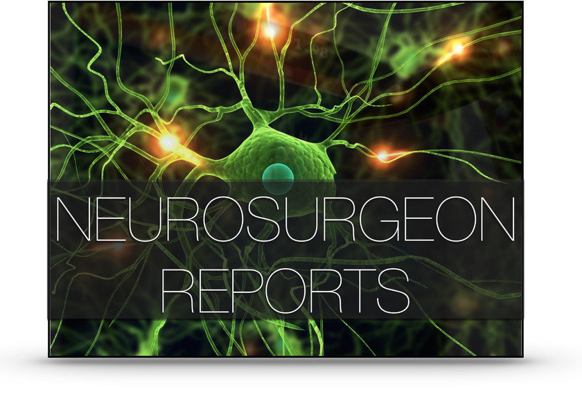 NEUROSURGEON REPORTS