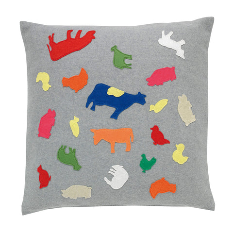 Fuzzy felt cushion
