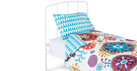 Folksy bedding