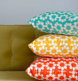Isobel's Flowers Yellow Cushion - hunkydory home  - 2