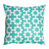 Isobel's Flowers teal Cushion - hunkydory home  - 1