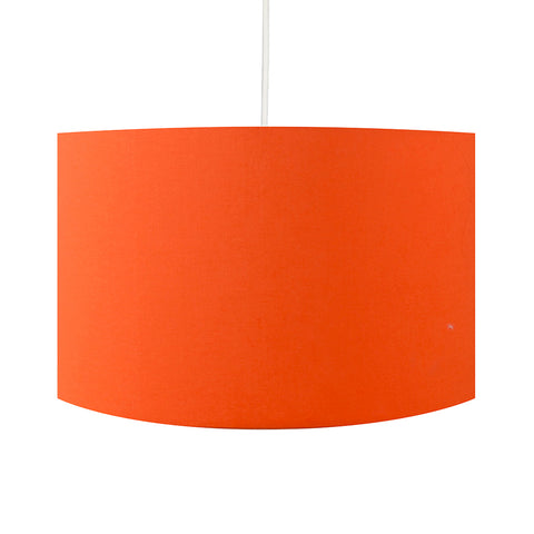 Carrot Orange Lamp Shade