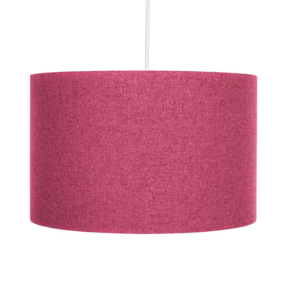 Fuchsia pink handmade contemporary drum lamp shade hunkydory home fuchsia pink lampshade hunkydory home mozeypictures Gallery