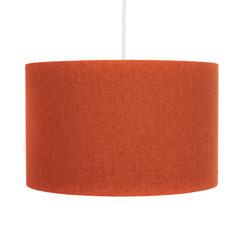 Burnt Orange Lampshade