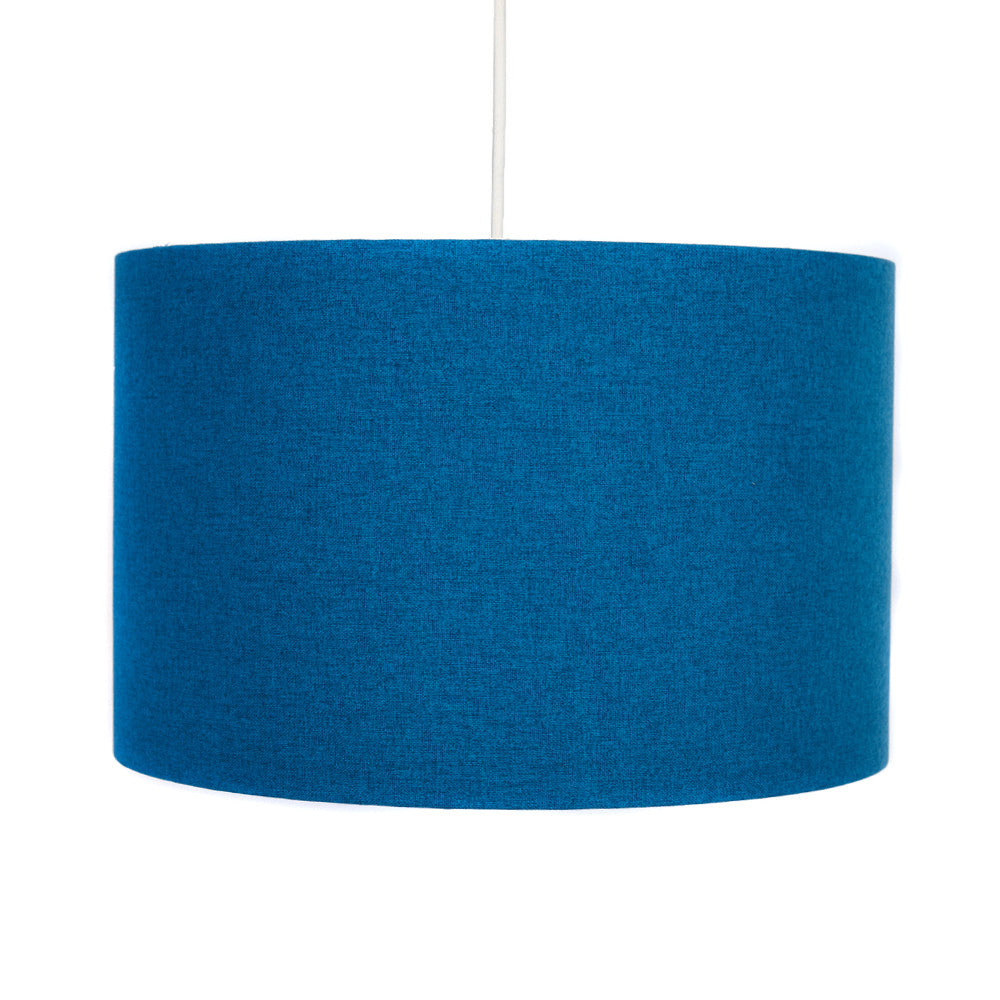 Peacock Blue Lampshade - hunkydory home
