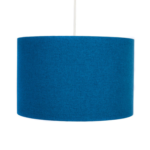 Peacock Blue Lampshade